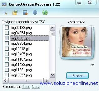 contact avatar recovery